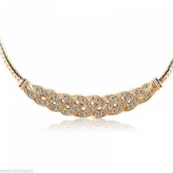 Halsketten Damen Collier Silber/Gold Damen Gold-Ketten Silber-Ketten flacher Damen-Schmuck Business Schmuck Woman Necklace Gold Chain Highend Jewelery 2mm 40cm 5258
