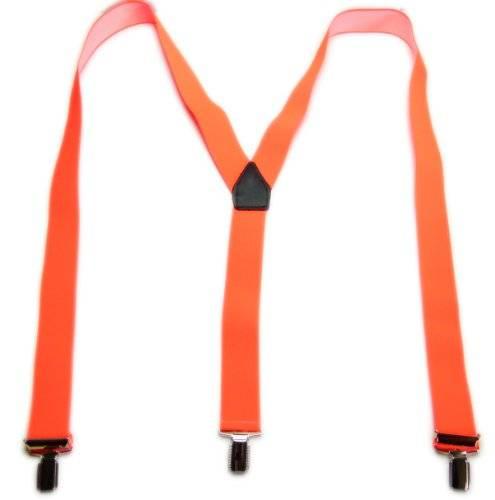 hochwertiger Hosenträger in Orange Party Hard