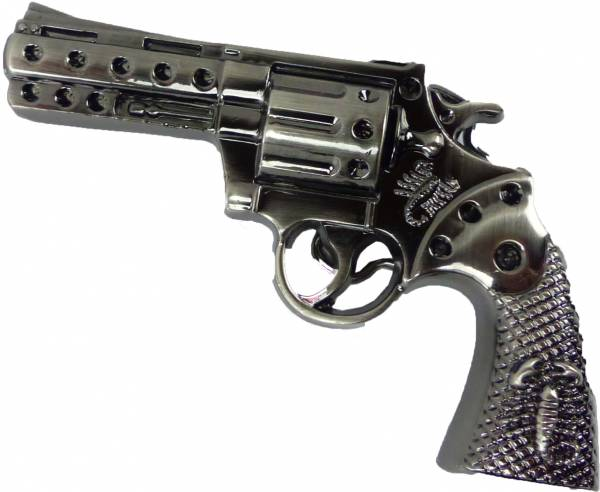 Guertel Schnalle 4454 PISTOLEN Koppel Gürtel Schnalle Metal Gun black Buckle