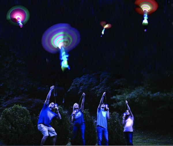 LED-Licht Spielzeug-Helikopter Kinder und Erwachsene
