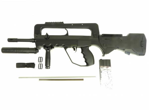 Softair Gun Military Airsoft Rifle Special Forces Federdruck Gewehr 76cm 0,5 Joule
