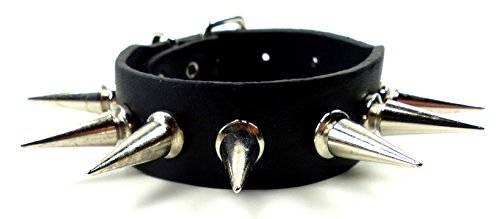Armband Herren Damen XL Killer Nieten Armband 4142 XL Killer-Nieten Arm-Band schwarz Armbaender 1R XL Killer Nieten besetzt