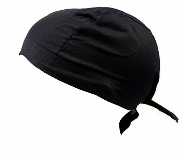 Herren Damen Kopftuch schwarz für Kinder und Erwachsene