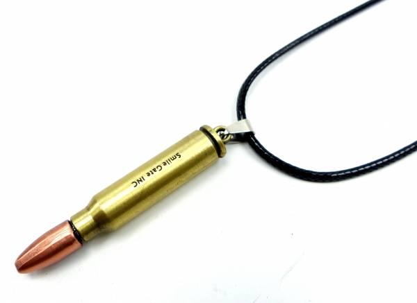 Halskette Patronen Hals-Kette 4346 Anhänger Gewehr Munition Barrel