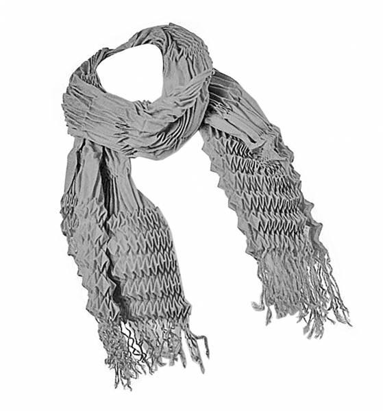 Schal grau Herren-Damen Schal Winter-Sommer Scarfs grey-XL-Schal-warm für Sie und Ihn (grau)