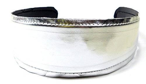 Haar-Reif 3147 Silber Haar-Kamm Haarreifen silber glanz Design H9