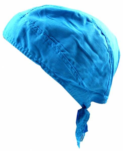 Kopftuch 4491 Kopftuecher Bandana Headscarf Bandannas für Kinder und Erwachsene (türkis)
