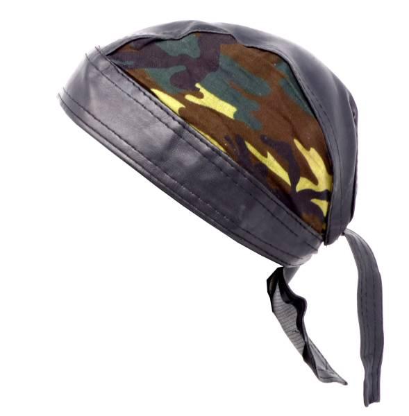 Kopftuch H Kopf-Tuecher schwarz Biker Paisley-Motiv Head-Scarf black Theme Paisley