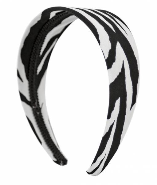 Haarreifen Damen Mädchen Haarreif Haarschmuck Retro Elastisch Vintage Zebra