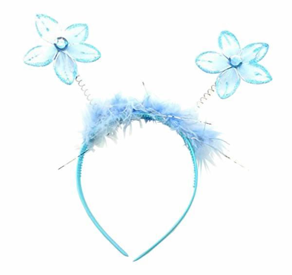 Haarreif viele Kinder Haarreif Kinder Haarklammer Kinder Haarspange Haarreifen mit Fühlern (TÜRKIS)