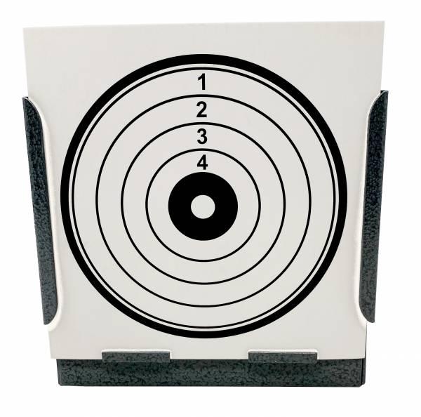 Softair Airsoft Metall Box Zielscheibe Shooting Paper Target 15cm