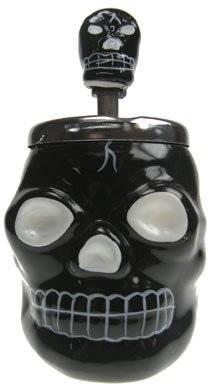 Aschenbecher 3813 Dreh-Aschenbecher Totenkopf ash-tray Skull