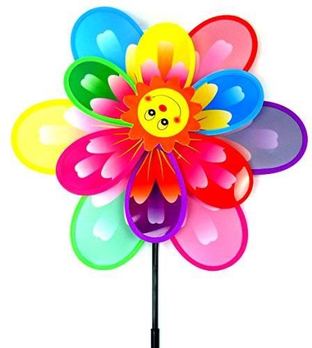 Wind-Spiel 2638 Wind-Rad der extra Klasse! Sunny Flower XL