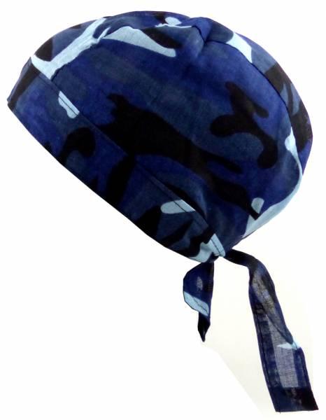 Kopftücher-Herren Damen-Kopftuchblau-schwarz Nacht-Camo Kinder-Sonnenschutz Junge Mädchen Kopf-Tücher Night-Camouflage Headscarf
