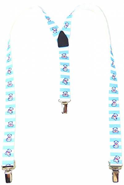 Hosentraeger 1773 Kinder Hosenträger pair of suspender hell blau mit Bärchen Motiv