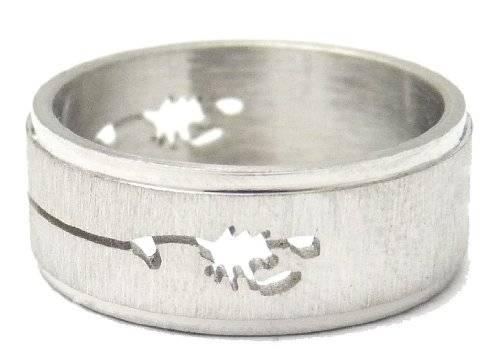 Top Designer Edelstahl Ringe viele Größen und Designs (19, scorp)