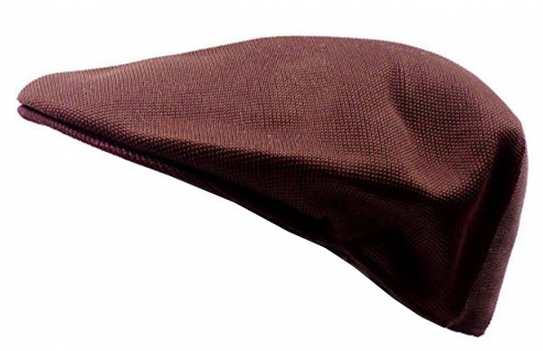 Mütze-Herren Damen-Designer Flat-Cap braun Summer Edition (braun+muster) 2634