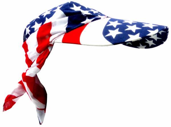 Kopftuecher und Schirm-Mütze Motiv USA Kopftuch Herren Damen Headscarf Men Woman Child Cap USA Theme 5183