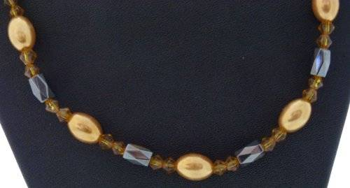 magnetische Halskette oder Aarmband viele Farben (gelb-Stein)