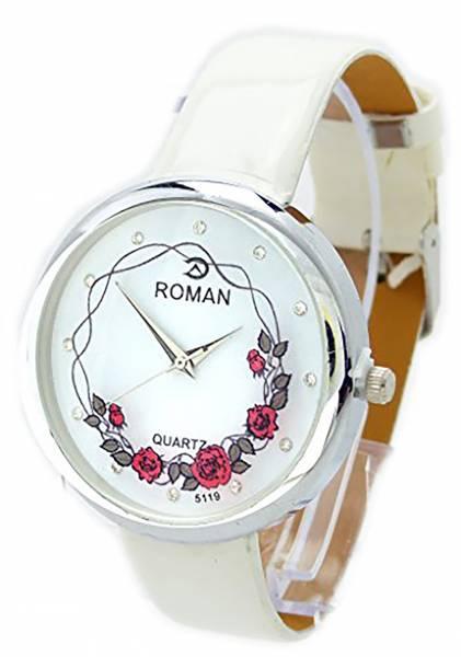 hochwertige Designer Armbanduhr Herren Designer Watch Roman White