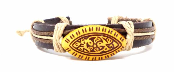 Armband Herren Damen Leder-Armbänder Handmade -Widee