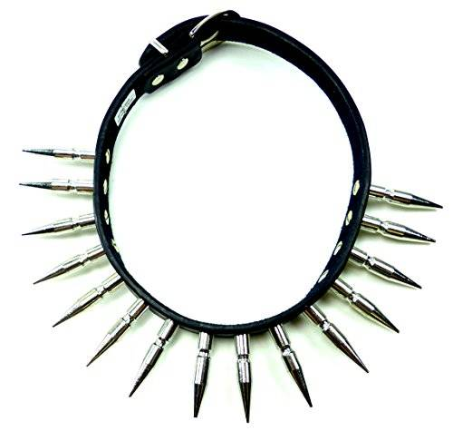 Hals-Band 1700 Killer Nieten-Halsband, XL Killernieten U10x (1 Reihe)
