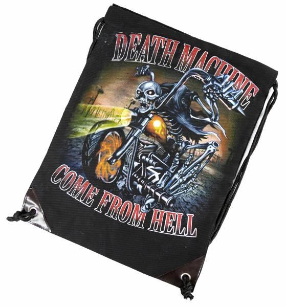 Biker Rucksack Herren Damen Punk Rock Beutel Tasche schwarz From Hell