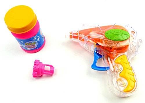 Seifen-Blasen-Set-Pistole 3042 Kinder Seifenblasen Set - keine Batterie nötig!