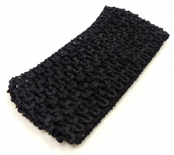 Haarband Damen Beauty Haarreif Kinder Stoff Haarbaender Unisex Hair Ribbon Haar Gummi Leana (schwarz) 4696
