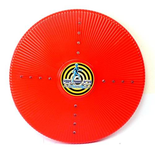Spielzeug 3773 LED Frisbee LED Wurfscheibe Flash Light Frisbees G.F.O viele Farben (rot)