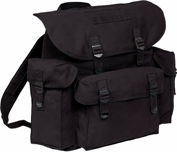 BW-Rucksack XL Militär-Rucksäcke schwarz Herren Damen hochwertige Universal Transport-Taschen Reise-Tasche Überlebens-Rucksack Einzelkämpfer Tasche