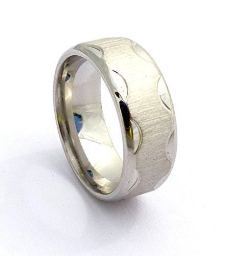 edle Edestahl Ringe für Sie und Ihn hochwertige Verarbeitung viele Modelle (60, S1)