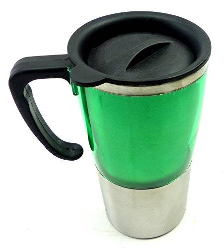 Outdoor Tasse alu thermo Becher mit Deckel Kaffee transport becher Coffee to Go Becher mit Verschluss 1612