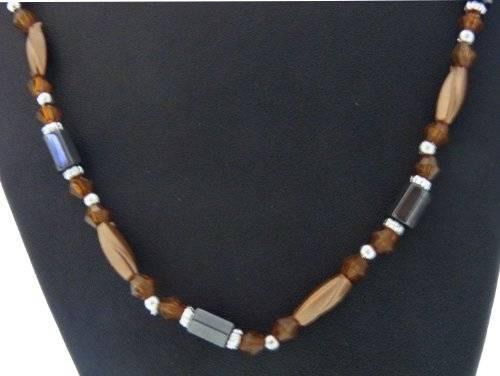 magnetische Halskette oder Aarmband viele Farben (orange)