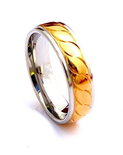 edle Edestahl Ringe für Sie und Ihn hochwertige Verarbeitung viele Modelle (58, G4)