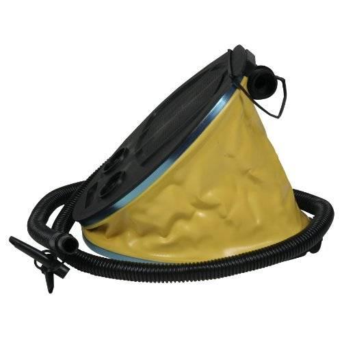 Pumpe Fußpumpe Blasebalg gelb schwarz In-Outdoor Camping Air Pump Luftpumpe mit 3 Litern Volumen 5091