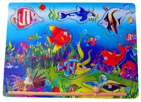 Kinder Magnet Puzzle Aquarium verschiedene Modelle (Aquarium 2) U35-1