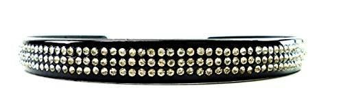 Designer Haar-Bänder Haar-Reifen 2206 Strass / Perlen besetzt (STRASS 3.2)