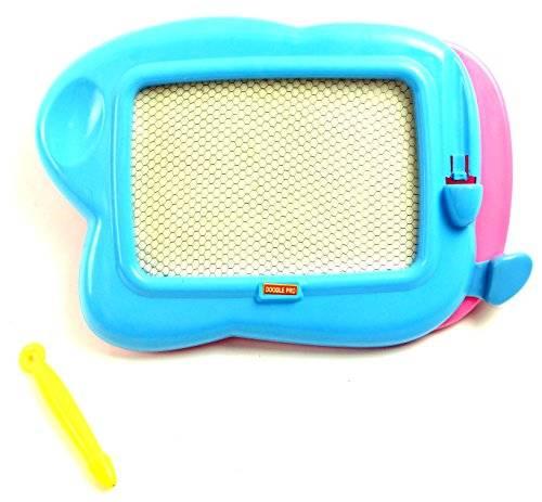 Kinder Mal Tafel mini Magnet Maltafel Kinder Zauber Magnettafel zum malen 4136 (blau)