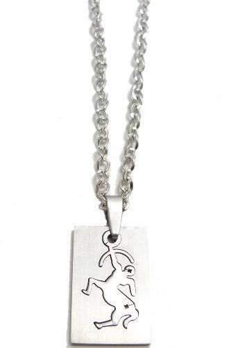 Halskette 50cm mit tollem Sternzeichen Anhänger - Schütze