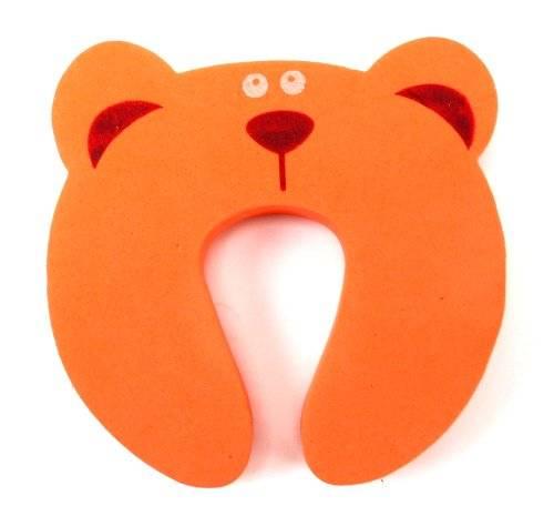 Kinder-Schutz 2565 Schaumstoff Tisch Türstopper Türstop Türstopp Finger-Klemmschutz für Baby Kinder Kindersicherung (Baer)