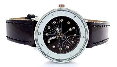 edle Damenuhr Designer Armbanduhr Damen Uhr mini Lady Watch Roman Black U86-4