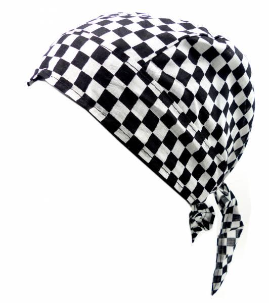 Kopftuch 4401 Kopftuecher Bandanas Punk Rock Headscarf Bandannas für Kinder und Erwachsene (KaroSW1)