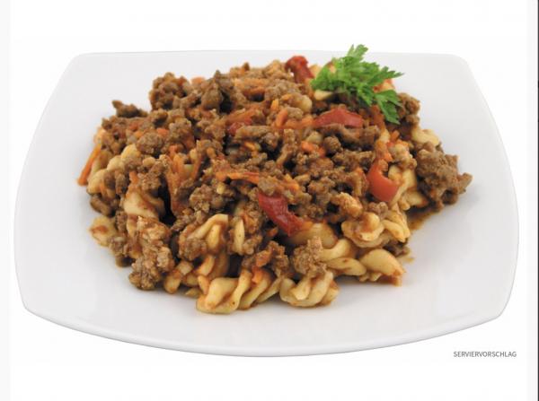 Prepper Survival Food Nudeln Bolognese 400g 10 Jahre haltbar