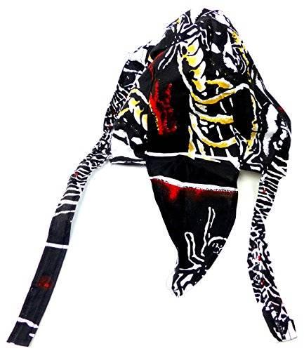 Kopf-Tuch 2625 Bandana Kopftuecher Zantana Head-Scarf viele Modelle für Kinder und Erwachsene Sie und Ihn O75 (spider Skull)