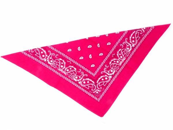 Nicki-Tuch Damen Nickituecher dunkles pink 56x56cm (pink)