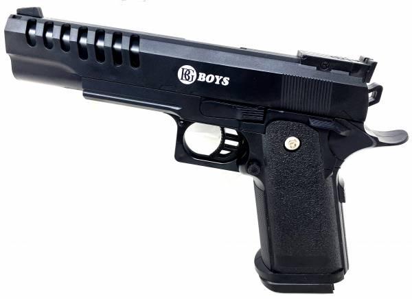 Softair Pistole Kids Toy Airsoft Gun KR16 ab 3 Jahre 23cm 0,08 Joule