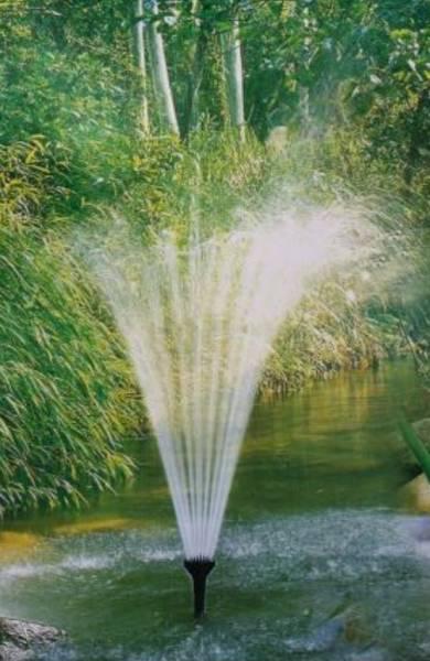 Garten-Teiche Springbrunnen-Set Aufsaetze Fontaenen Set Aufsatz Spring Brunnen Fontänen Aufsatz Pons-Fountain Kid 5112