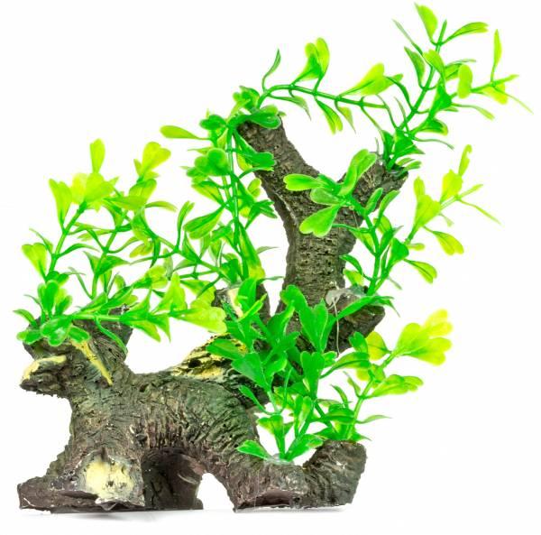 Aquarium-Wurzel-Terrarium Wurzel-Dekoration-mit Pflanzenbesatz Pfw93 Plastik-Pflanze Wasser-Pflanzen für Aquarien