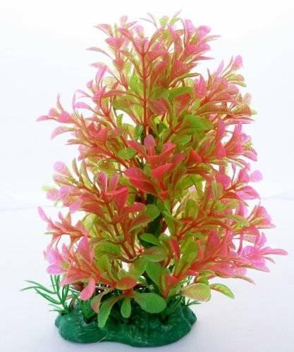 Aquarium Terrarium 3841 Wasserpflanze 20cm auf Stein PF27